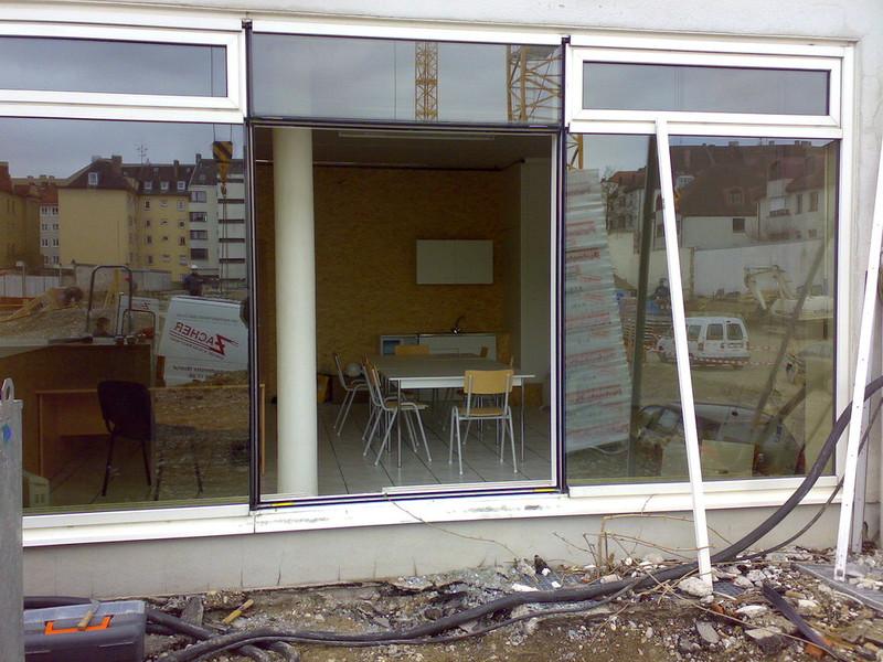 Wärmedämmung München schaufenster notdienst glasreparatur schnelldienst